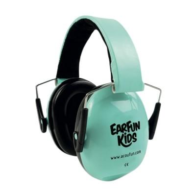 ACOUFUN EARFUN KID ATTENUATING HEADPHONES - TURQUOISE GREEN
