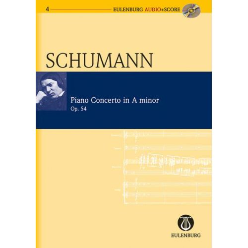 EULENBURG SCHUMANN ROBERT - CONCERTO A MINOR OP. 54 - PIANO AND ORCHESTRA