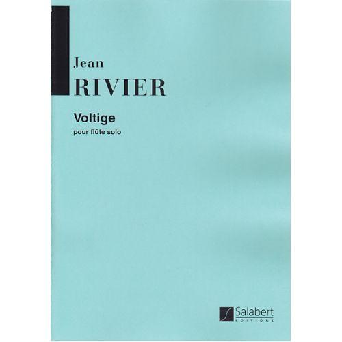 SALABERT RIVIER J. - VOLTIGE - FLUTE SOLO