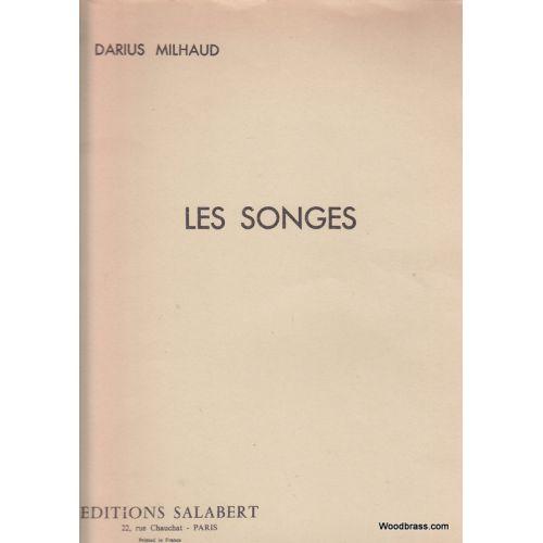 SALABERT MILHAUD DARIUS - LES SONGES