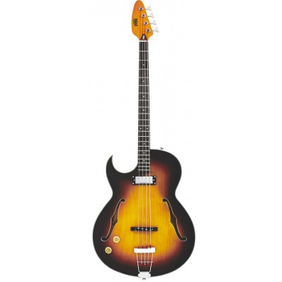 EASTWOOD GUITARS SATURN IV BASS SUNBURST LH