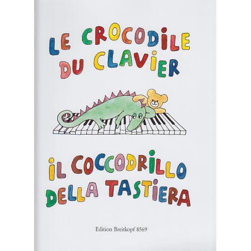 EDITION BREITKOPF CROCODILE DU CLAVIER FRZ.-ITAL