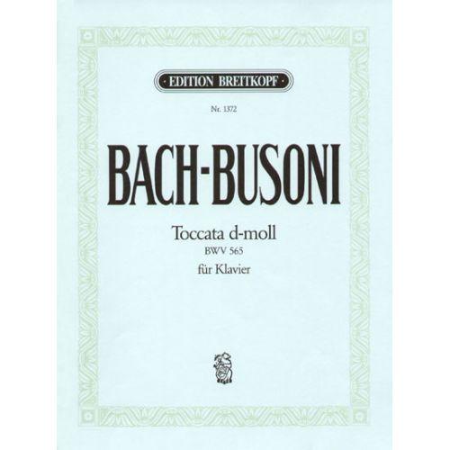 EDITION BREITKOPF BACH J.S. - TOCCATA D-MOLL BWV 565 - PIANO
