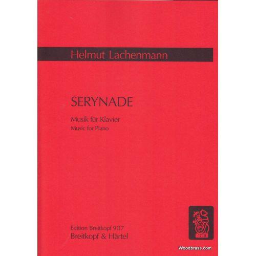 EDITION BREITKOPF LACHENMANN HELMUT - SERYNADE - MUSIK FUR KLAVIER - PIANO