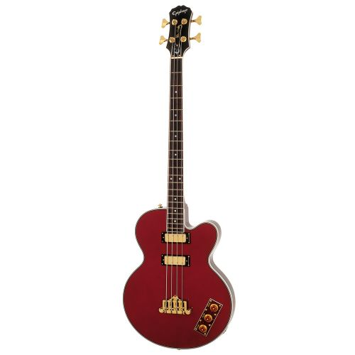 EPIPHONE ALLEN WOODY LTD ED RUMBLEKAT GLD HDWE WINE RED