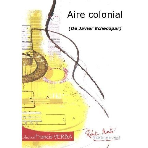 ROBERT MARTIN ECHECOPAR J.L. - AIRE COLONIAL
