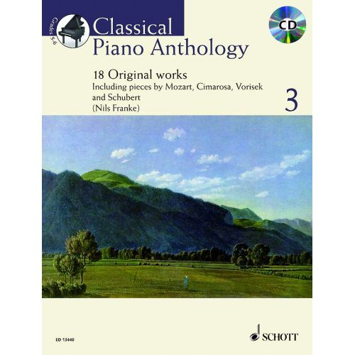 SCHOTT CLASSICAL PIANO ANTHOLOGY VOL.3 + CD