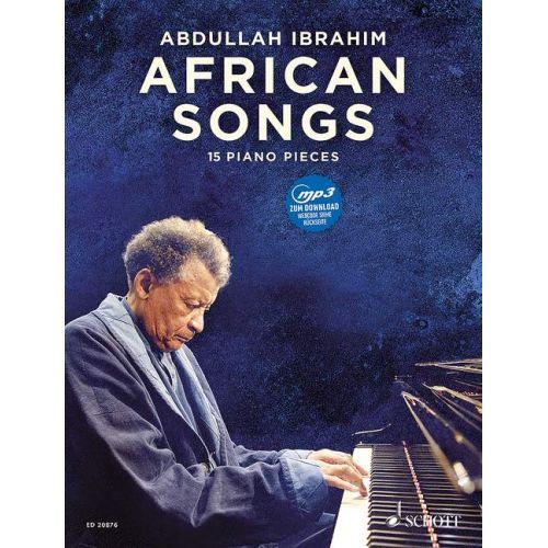 SCHOTT IBRAHIM A. - AFRICAN SONGS - PIANO