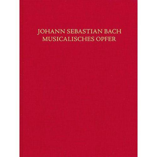 SCHOTT BACH J.S. - MUSICAL OFFERING (MUSICAL SACRIFICE) BWV 1079