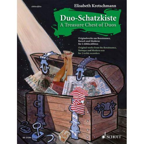 SCHOTT A TREASURE CHEST OF DUOS - FLUTE