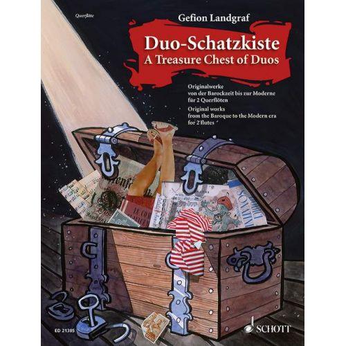 SCHOTT A TREASURE CHEST OF DUOS - FLUTE
