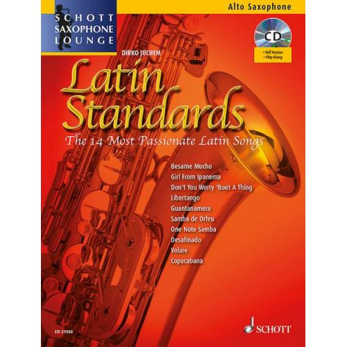 SCHOTT LATIN STANDARDS - SAXOPHONE ALTO