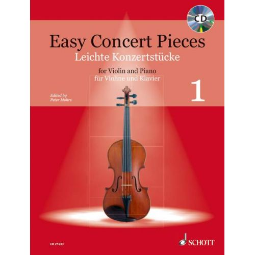 SCHOTT EASY CONCERT PIECES BAND 1 - VIOLON