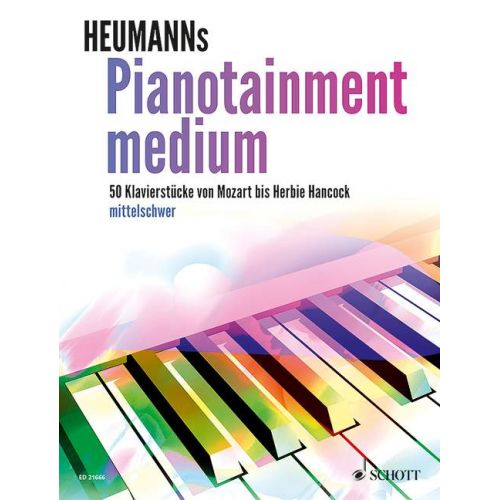 SCHOTT PIANOTAINMENT MEDIUM - PIANO