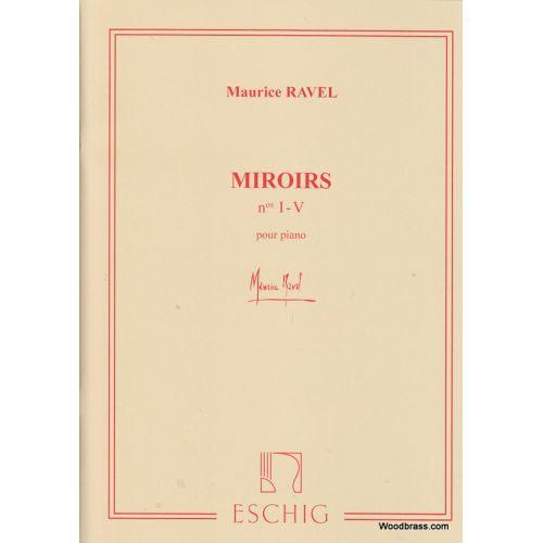 EDITION MAX ESCHIG RAVEL M. - MIROIRS - PIANO