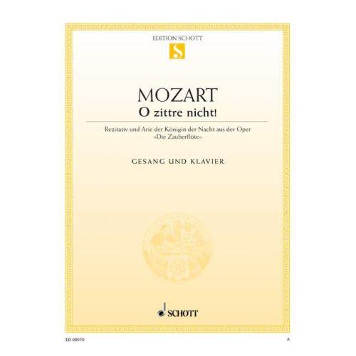 SCHOTT MOZART W.A. - THE MAGIC FLUTE - COLORATURA SOPRANO AND PIANO