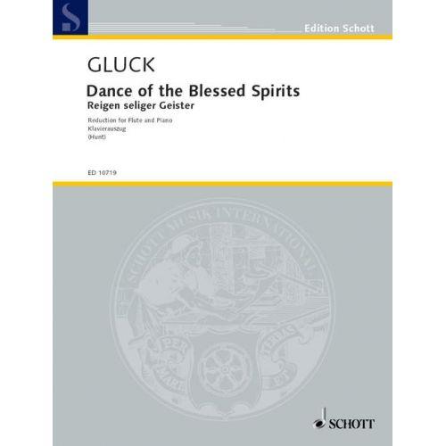 SCHOTT GLUCK CHRISTOPH WILLIBALD - REIGEN SELIGER GEISTER - FLUTE AND PIANO