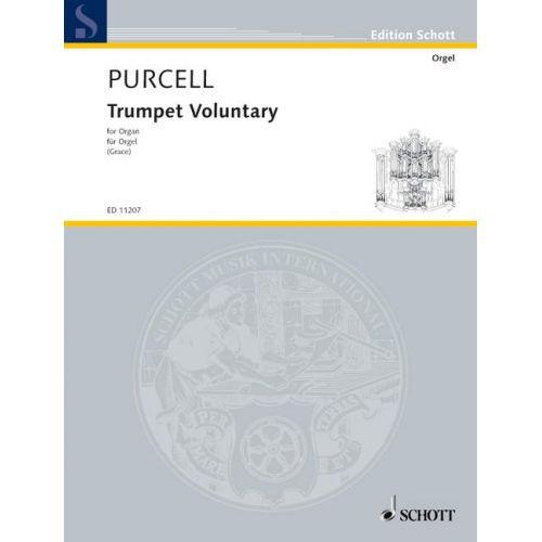 SCHOTT PURCELL HENRY - PURCELL'S TRUMPET VOLUNTARY - ORGAN