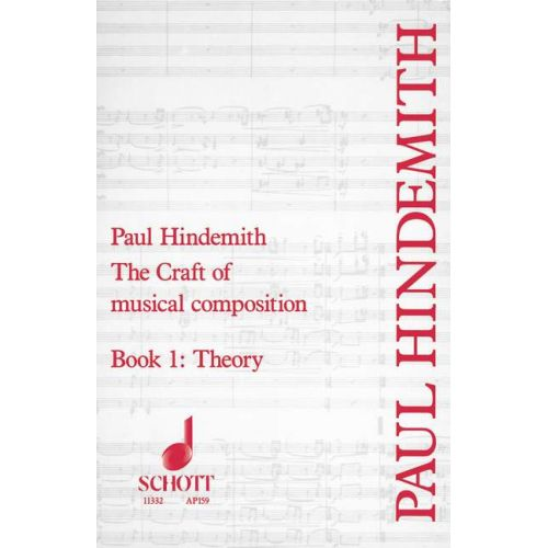schott hindemith paul the craft of musical composition