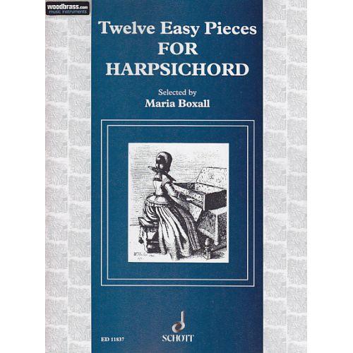 SCHOTT TWELVE EASY PIECES - HARPSICHORD