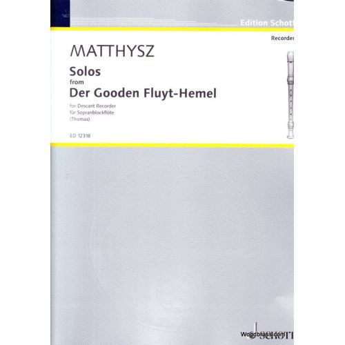 SCHOTT MATTHYSZ P. - SOLOS AUS