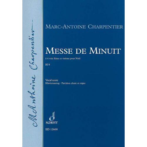 SCHOTT CHARPENTIER M.A. - MESSE DE MINUIT H 9