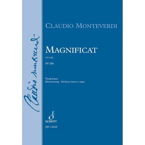 SCHOTT MONTEVERDI CLAUDIO - MAGNIFICAT M XIV, 327 / SV 206, ANH.