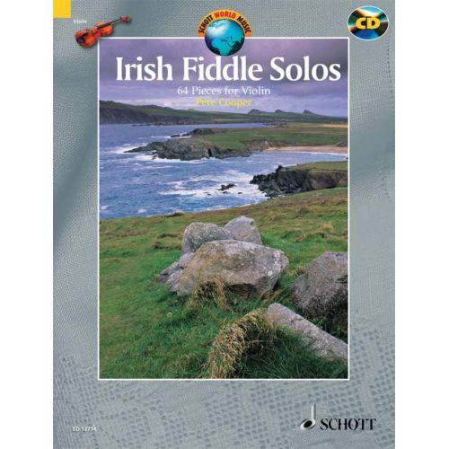 SCHOTT COOPER PETE - IRISH FIDDLE SOLOS - VIOLIN