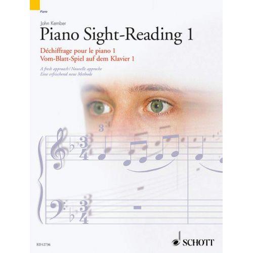 SCHOTT KEMBER JOHN - DECHIFFRAGE POUR LE PIANO VOL. 1 - PIANO