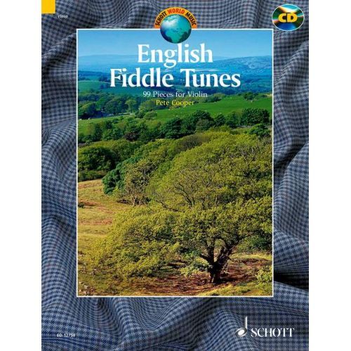 SCHOTT COOPER PETE - ENGLISH FIDDLE TUNES - VIOLIN