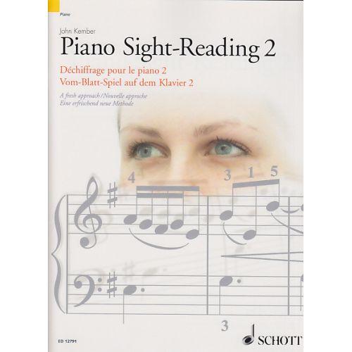 SCHOTT KEMBER JOHN - DECHIFFRAGE POUR LE PIANO VOL.2