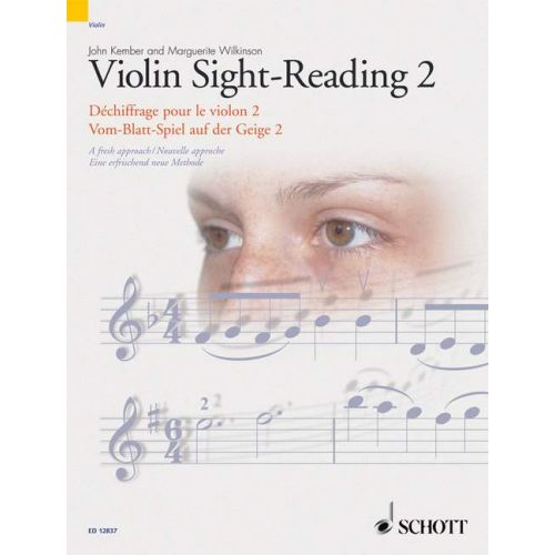 SCHOTT KEMBER JOHN - VIOLIN SIGHT-READING 2 VOL. 2 - VIOLIN