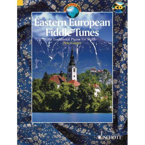 SCHOTT EASTERN EUROPEAN FIDDLE TUNES - VIOLIN