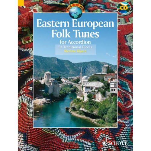 SCHOTT KLJUCO MERIMA - EASTERN EUROPEAN FOLK TUNES - ACCORDION