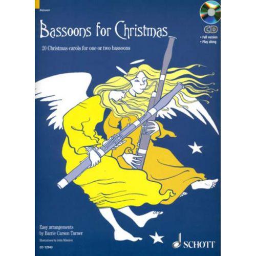 SCHOTT BASSOONS FOR CHRISTMAS - 1-2 BASSOONS