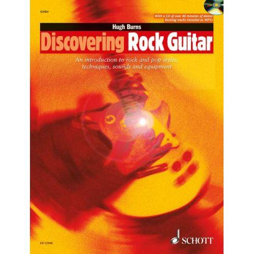 SCHOTT BURNS HUGH - DISCOVERING ROCK GUITAR - GUITAR