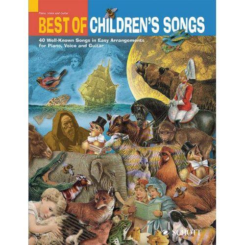 SCHOTT BEST OF CHILDREN'S SONGS - PIANO, VOICE AND GUITAR
