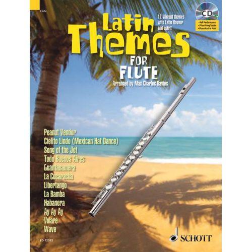 SCHOTT LATIN THEMES FOR FLUTE + CD - FLUTE