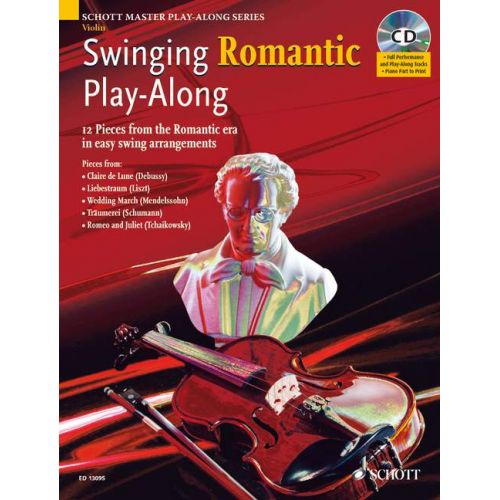 SCHOTT SWINGING ROMANTIC PLAY-ALONG + CD - VIOLIN
