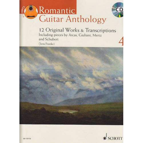 SCHOTT ROMANTIC GUITAR ANTHOLOGY VOL.4 + CD - GUITAR