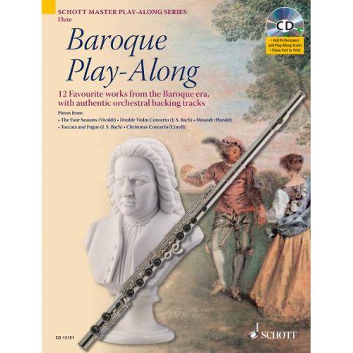 SCHOTT BAROQUE PLAY-ALONG - FLUTE