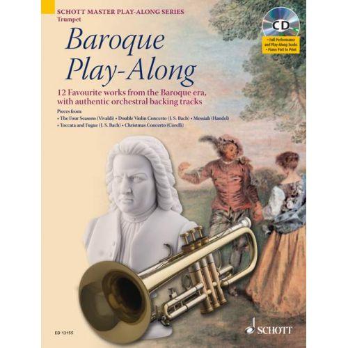 SCHOTT BAROQUE PLAY-ALONG - TRUMPET