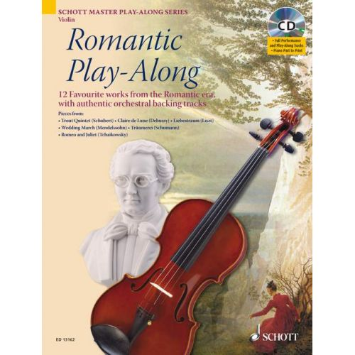 SCHOTT ROMANTIC PLAY-ALONG - VIOLIN