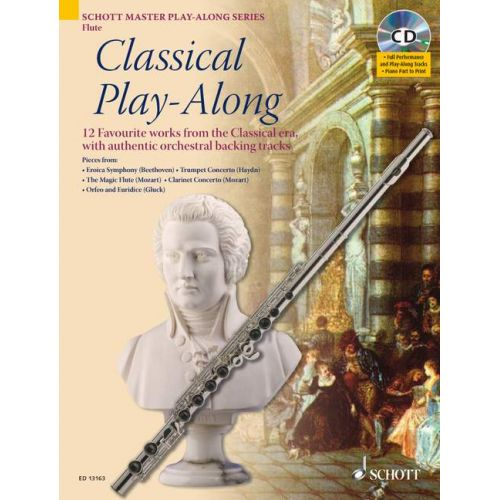SCHOTT CLASSICAL PLAY-ALONG + CD - FLUTE