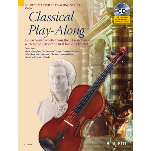SCHOTT CLASSICAL PLAY-ALONG + CD - VIOLIN