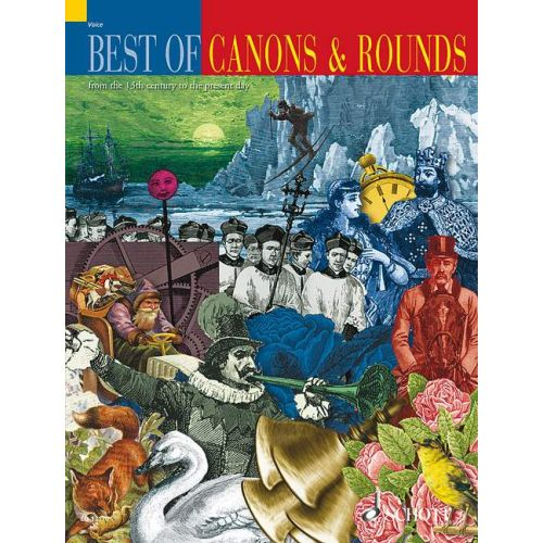 SCHOTT BEST OF CANONS AND ROUNDS - VOICE