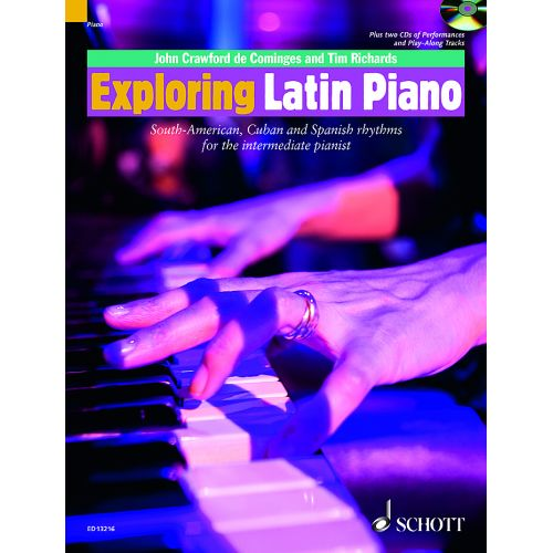 SCHOTT CRAWFORD JOHN - EXPLORING LATIN PIANO - PIANO