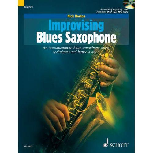 SCHOTT BESTON NICK - IMPROVISING BLUES SAXOPHONE - SAXOPHONE