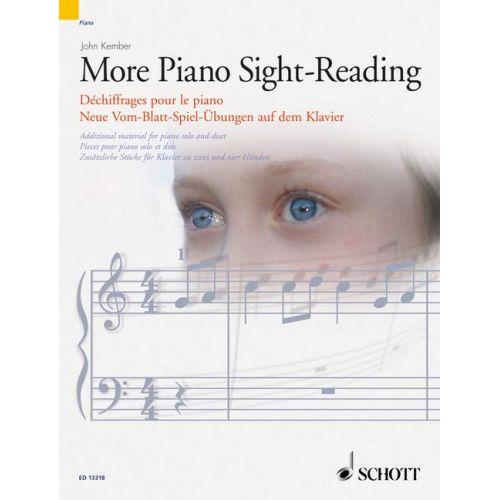SCHOTT MORE PIANO SIGHT-READING - PIANO