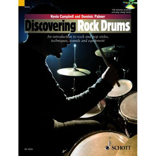 SCHOTT DISCOVERING ROCK DRUMS + CD